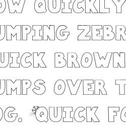 LD Flurry - Font