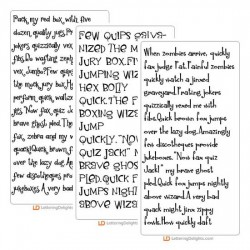 Rhyme Time Fonts - BD