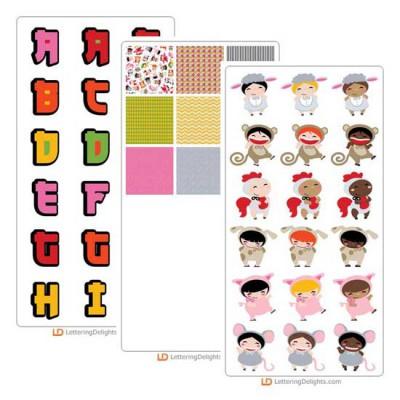 Shengxiao Kids - Graphics Bundle