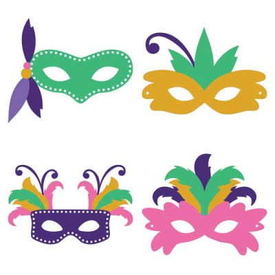Mardi Gras Hop - Masks - CP