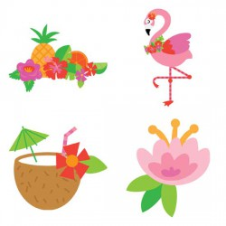 Let's Flamingle - Luau - GS