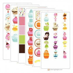 Buttercream Babes - Graphics - Bundle