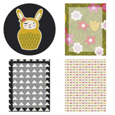 Bunny Babooshka - Planner Stickers - PR