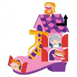 The Old Woman's Shoe - Shoe - CS
