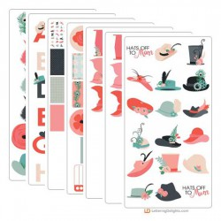 Hats Off To Mom - Graphic Bundle