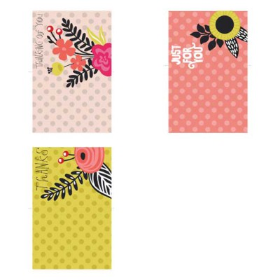Laurels and Florals - Cards - PR
