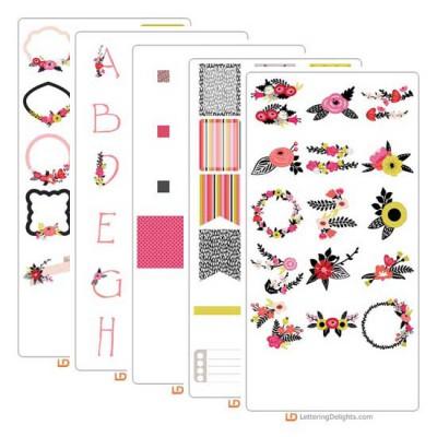 Laurels and Florals - Graphic Bundle