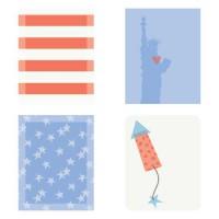 Patriotic - Planner Stickers - PR