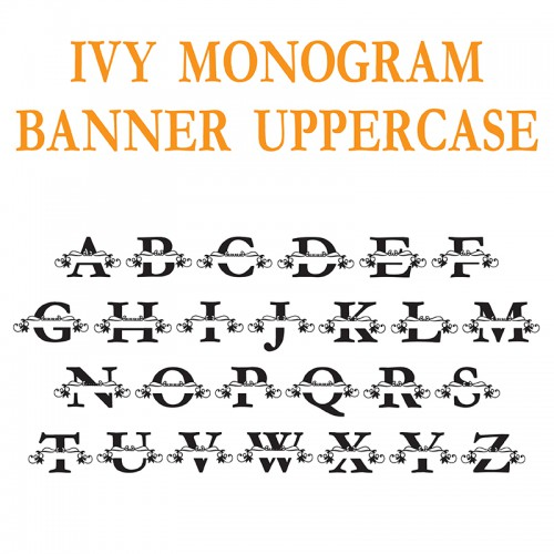PN Ivy Monogram Banner - FN
