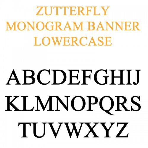 PN Zutterfly Monogram Banner- FN