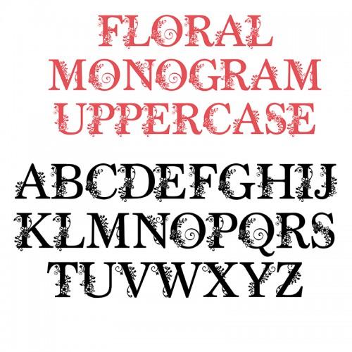 PN Floral Monogram - FN