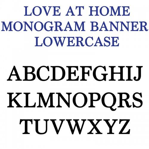 PN Love at Home Monogram Banner - FN