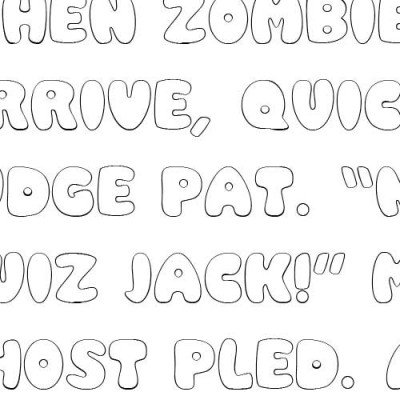 LD Rounded - Font