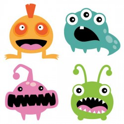Plushies - Monsters - CS