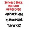 ZP Zanders Black Rainbow - FN - Sample 2