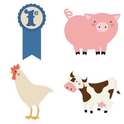 County Fair - Ribbon Winners - CS