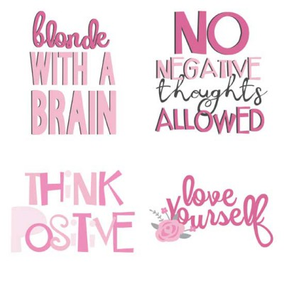 Think Pink - Affirmations - GS