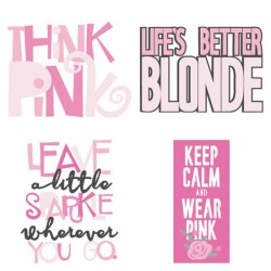 Think Pink - Affirmations - CS