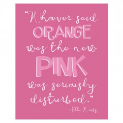 Think Pink - Poster - PR