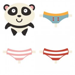 Mr. Panda - Dress Up - GS