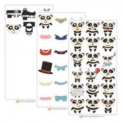 Mr. Panda - Cut Bundle