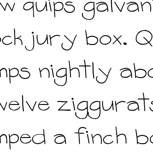 Artsy Fonts Alphabet
