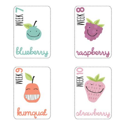 Milestones - Pregnancy - Cards - PR