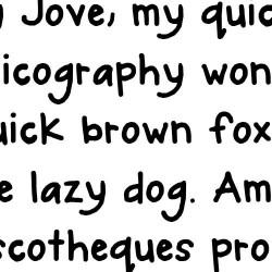 LD Dabble - Font