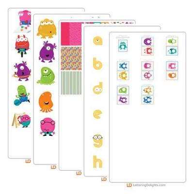 Mini Monster - Graphic Bundle