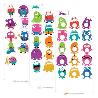 Mini Monster - Cut Bundle