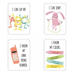 Milestones - Growing Up - Cards - PR