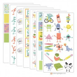 Milestones - Growing Up - Graphic Bundle