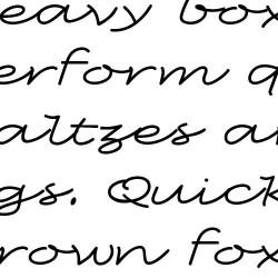 LD Slanted - Font