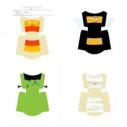 Corny Costumes - Fry Boxes - PR