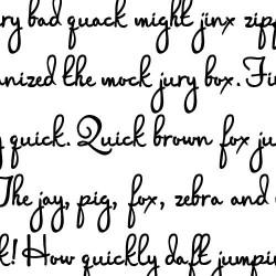 PN Manuscript Addict - Font
