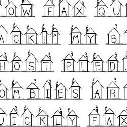 LD Neighborhood - Font
