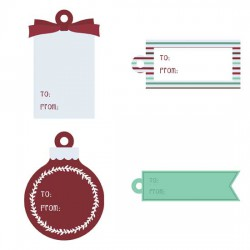 Merry and Bright - Tags - PR