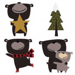 Beary Christmas - CS