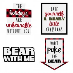 Beary Christmas - Sentiments - GS