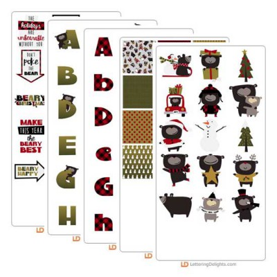 Beary Christmas - Graphic Bundle