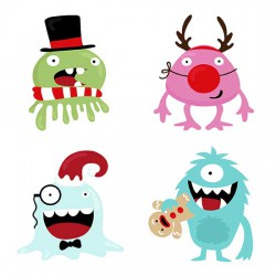 Monstrous Christmas - GS