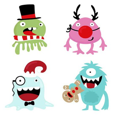 Monstrous Christmas - CS