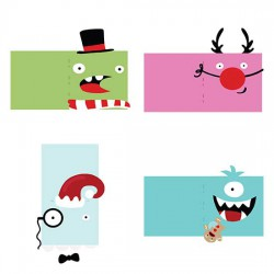 Monstrous Christmas - Cards - CP