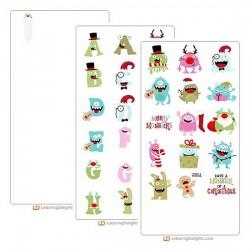 Monstrous Christmas - Graphic Bundle
