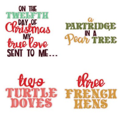 Christmas Twelve - Phrases - GS