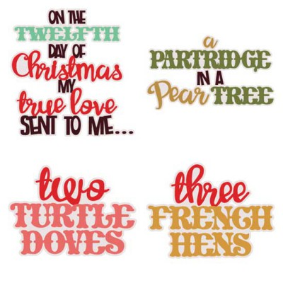 Christmas Twelve - Phrases - CS