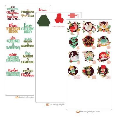 Christmas Twelve - Cut Bundle