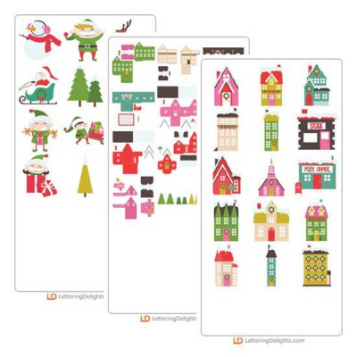 Santa's Village - Cut Bundle