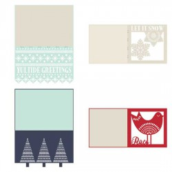 Delicate Yuletide - Cards - CP