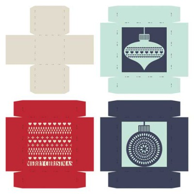 Delicate Yuletide - Boxes - CP